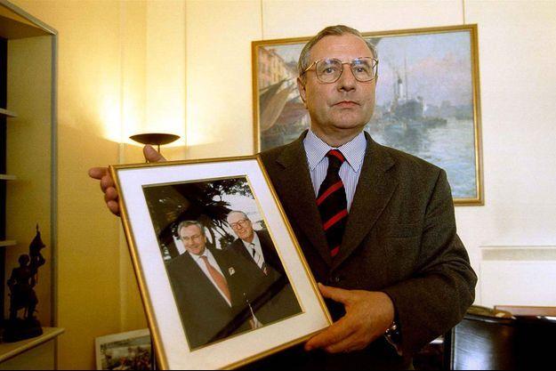 Jean-Marie Le Chevallier en mars 1999, après sa démission du Front national.