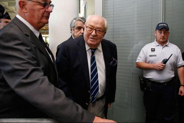 Jean-Marie Le Pen ici en octobre 2016.