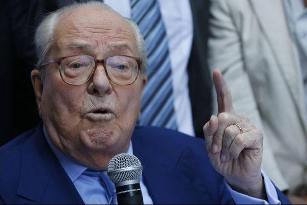 Jean-Marie Le Pen, à Marseille, le 5 septembre 2015.