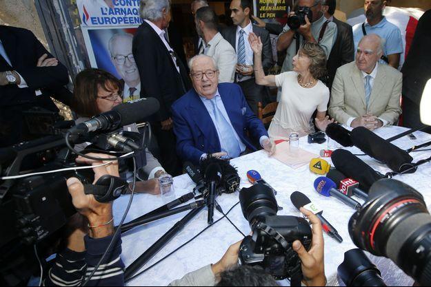 Jean-Marie Le Pen à Marseille, le 5 septembre 2015.