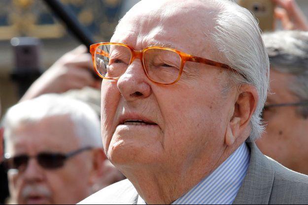 Jean-Marie Le Pen le 1er mai.