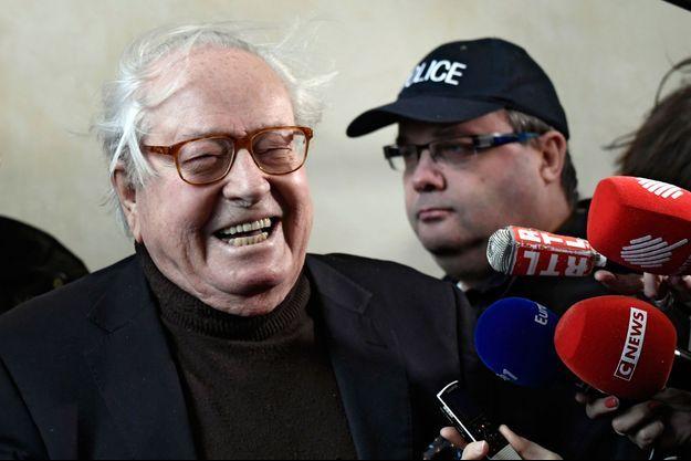 Jean-Marie Le Pen en décembre 2017