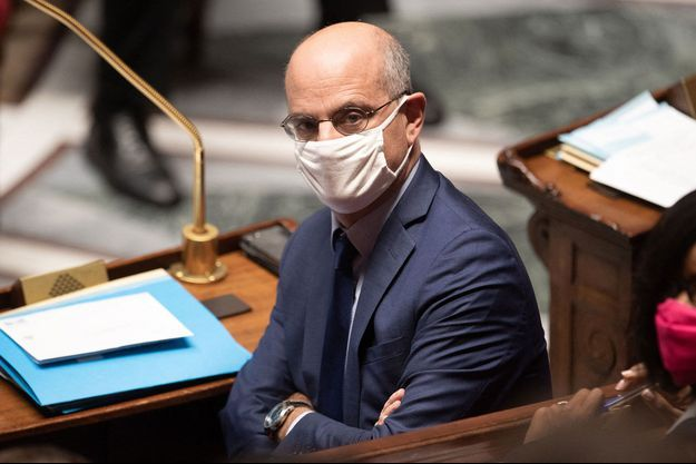 Jean-Michel Blanquer, à l'Assemblée nationale mardi.