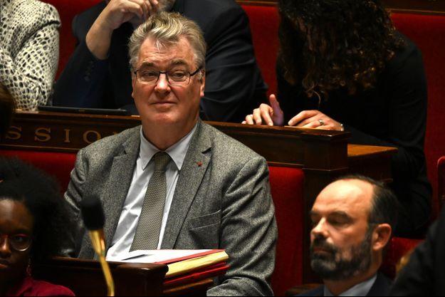 Jean-Paul Delevoye ici mardi à l'Assemblée nationale.