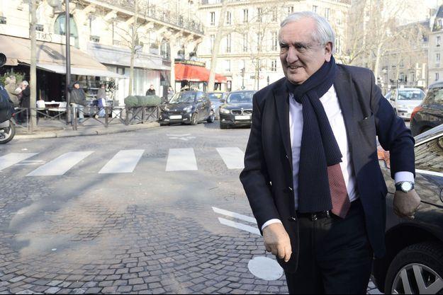 Jean-Pierre Raffarin le 20 janvier dernier.