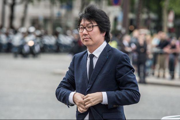 Jean-Vincent Placé, à Paris en juin 2016.