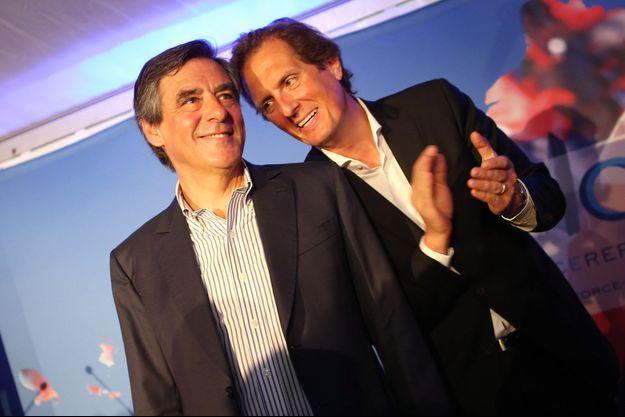François Fillon et Jérôme Chartier
