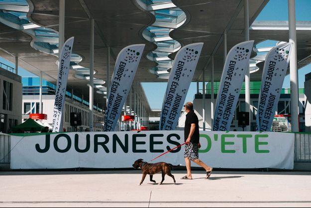 Aux journées d'été d'Europe Ecologie-Les Verts, jeudi à Toulouse.