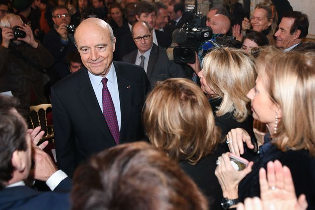 Alain Juppé, ici en conférence de presse à Bordeaux le 14 février.