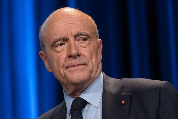 Alain Juppé à Paris le 10 mai.