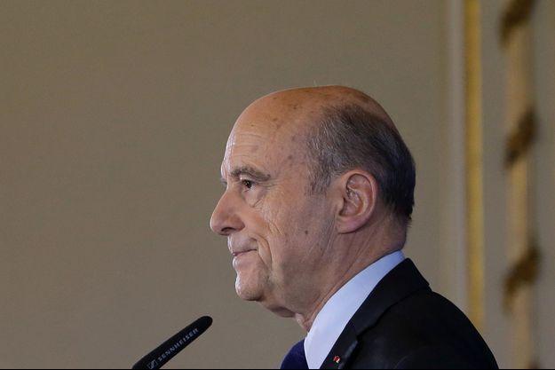 Alain Juppe, à Bordeaux le 6 mars 2017.