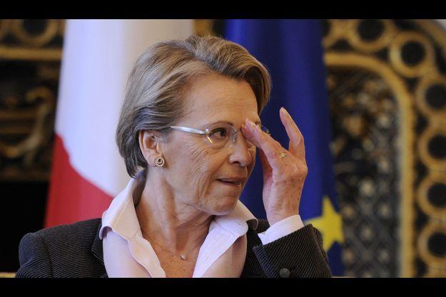 Michèle Alliot-Marie en février 2011.