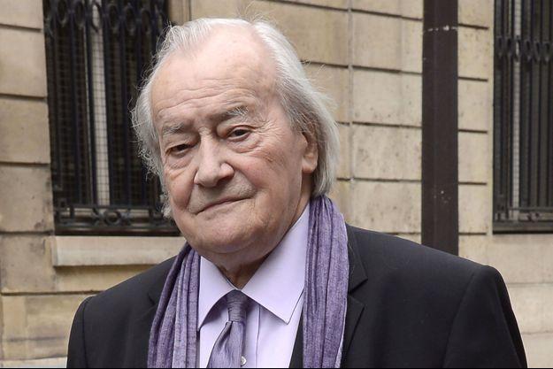 Jack Ralite, ancien ministre communiste en juin 2013 à Paris