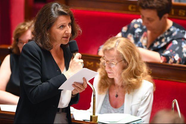 Agnès Buzyn à l'Assemblée nationale, le 3 juillet.