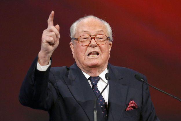 Jean-Marie Le Pen en novembre dernier.