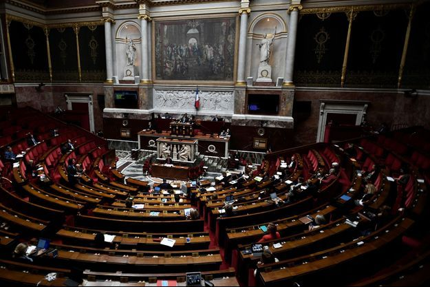 Ici, une vue de l'Assemblée, le 17 juin.