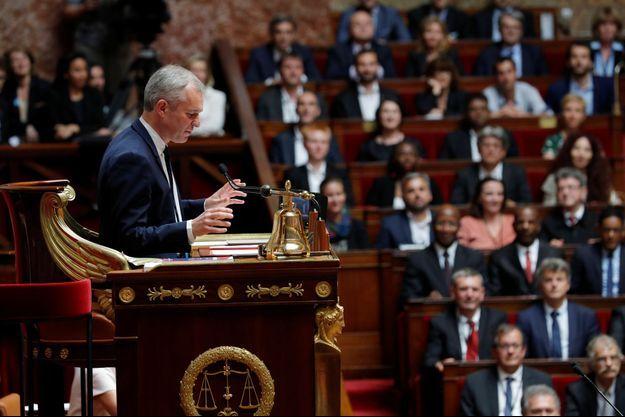 François de Rugy, début juillet 2017 à l'Assemblée nationale.