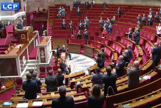 L'Assemblée nationale a rendu hommage à Charles Aznavour.