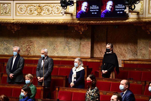 Hommage mardi à l'Assemblée à Olivier Dassault.