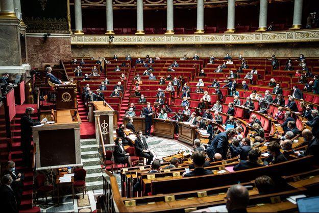 L'Hémicycle ici le 1er janvier.
