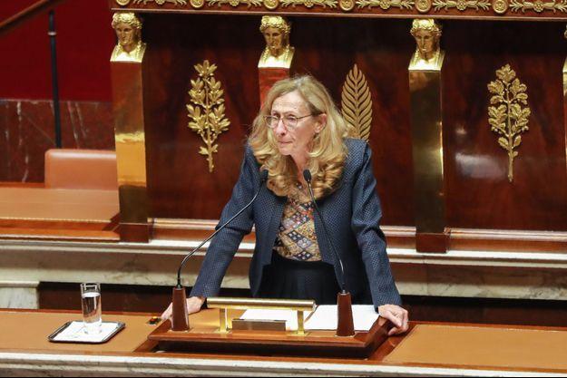 La ministre de la justice, Nicole Belloubet, ici fin septembre à l'Assemblée.