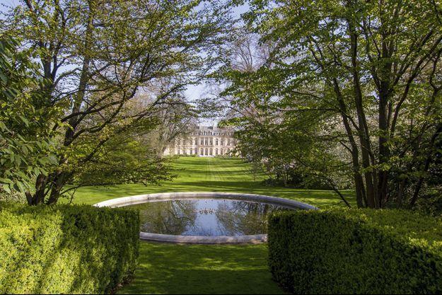 Le palais côté jardin.