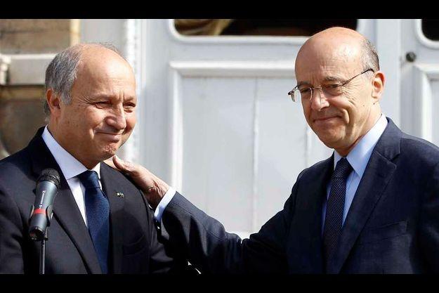 Laurent Fabius et Alain Juppé.