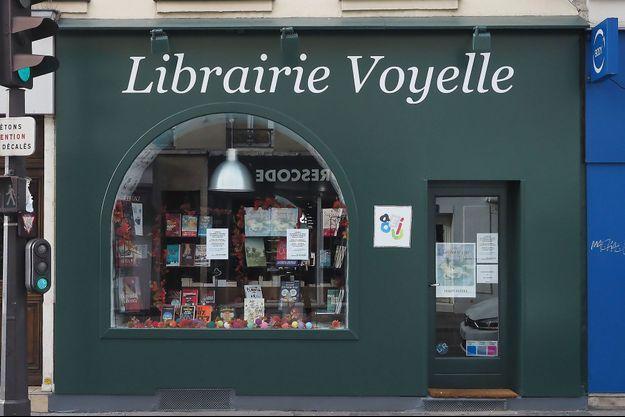 Image d'illustration, une librairie indépendante , à Paris, fermée durant le confinement.