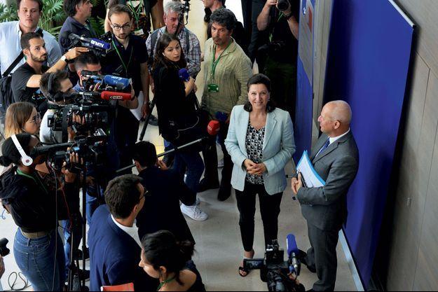Agnès Buzyn le 8 août au ministère de la Santé.