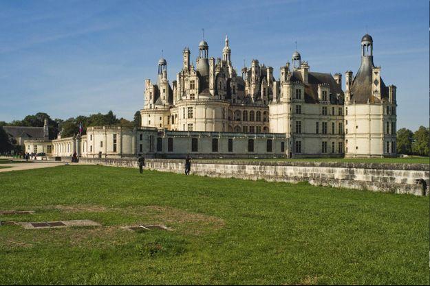 Le château de Chambord (domaine national de Chambord).