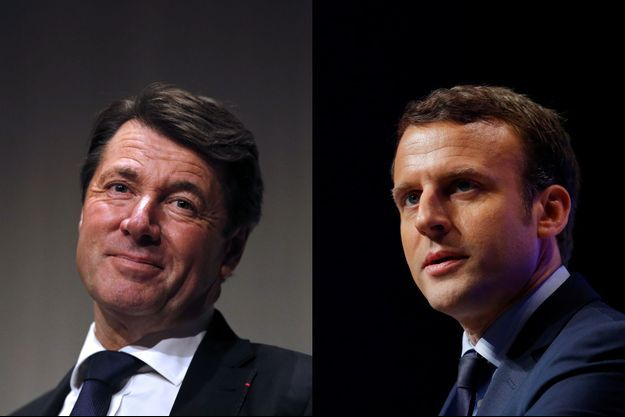 Christian Estrosi et Emmanuel Macron