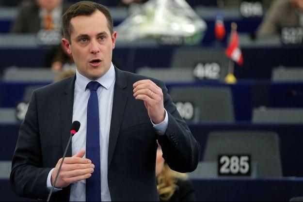 L'eurodéputé Nicolas Bay, ici en février 2018.