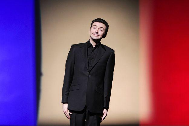 Gérald Dahan sur scène.