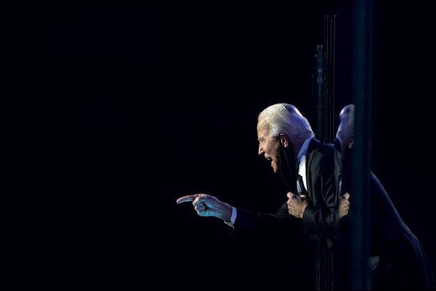 Joe Biden, président-élu des Etats-Unis, à Wilmington dans le Delaware, le 7 novembre dernier.