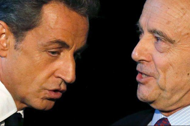 Nicolas Sarkozy et Alain Juppé en novembre 2014.