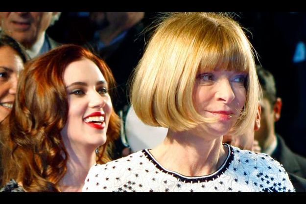 Scarlett Johansson et Anna Wintour (photo d'archive).
