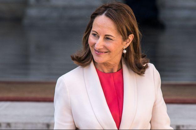 La ministre de l'Ecologie, Ségolène Royal, le 6 avril.