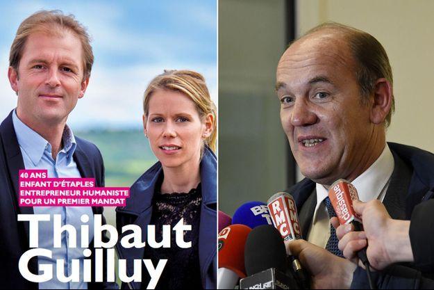 Thibaut Guilluy et sa suppléante Tiphaine Auzière ont perdu face à Daniel Fasquelle.