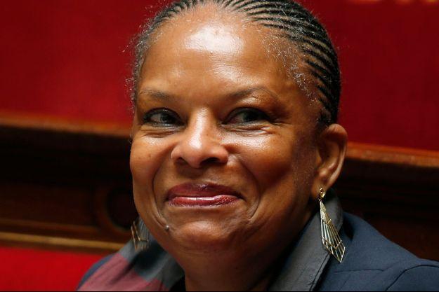 Christiane Taubira en juin dernier à l'Assemblée nationale.