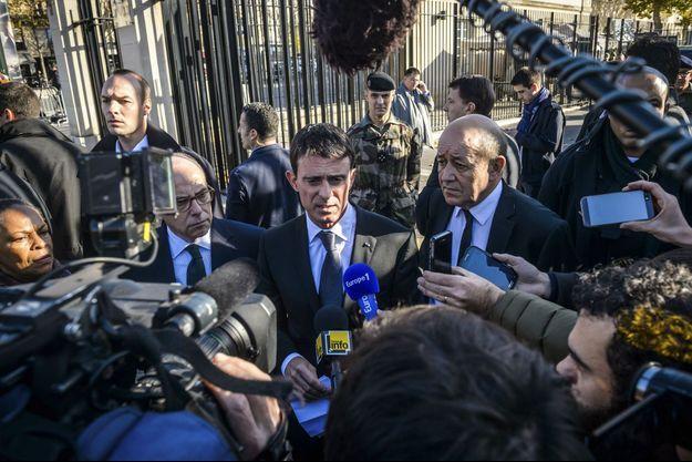 Manuel Valls s'est exprimé ce dimanche devant les médias.