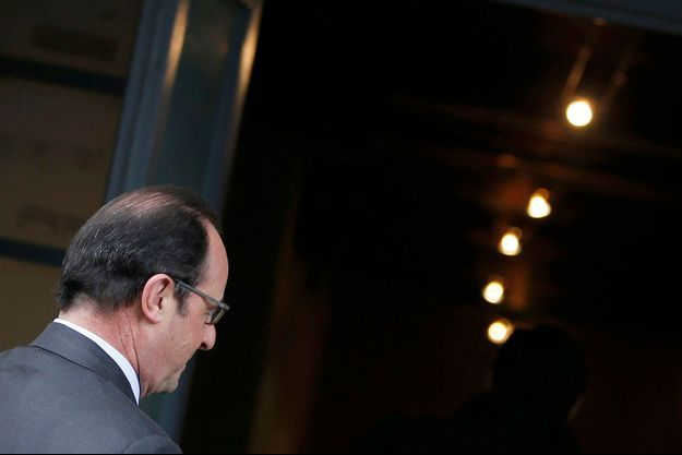 François Hollande a voté ce dimanche à Tulle, en Corrèze.
