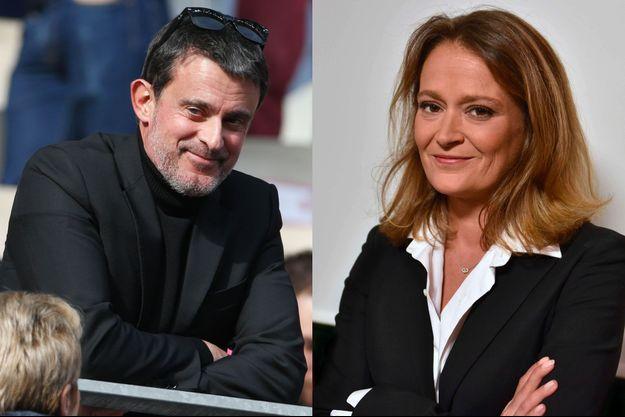 Manuel Valls et Olivia Grégoire.