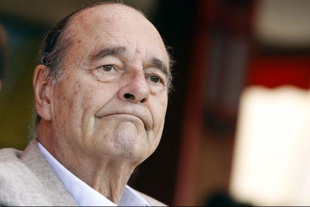 Jacques Chirac en août 2011.