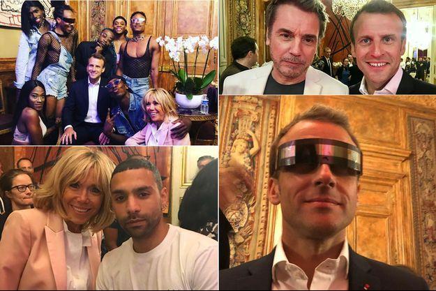 La fête de la musique à L'Elysée vu des réseaux sociaux