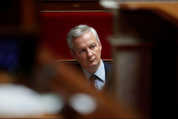 Bruno Le Maire, cii à l'Assemblée en décembre 2018.