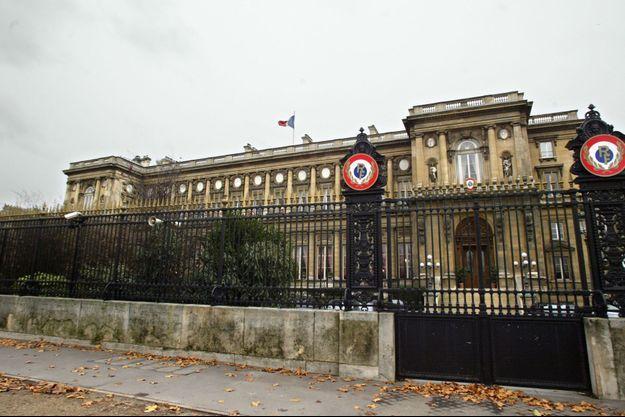 Le ministère français des Affaires étrangères.