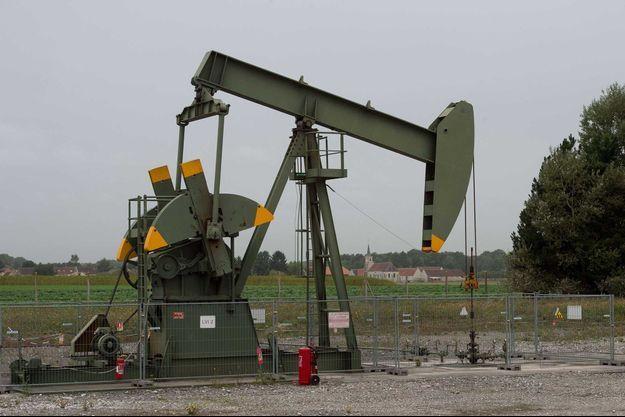 Plateforme pétrolière en Seine et Marne.