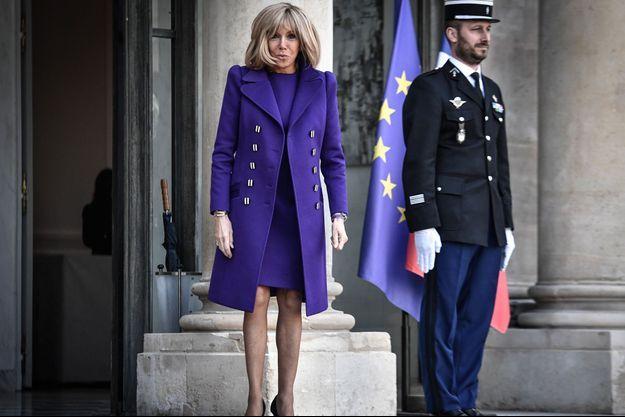 Brigitte Macron, ici à l'Elysée le 5 février.