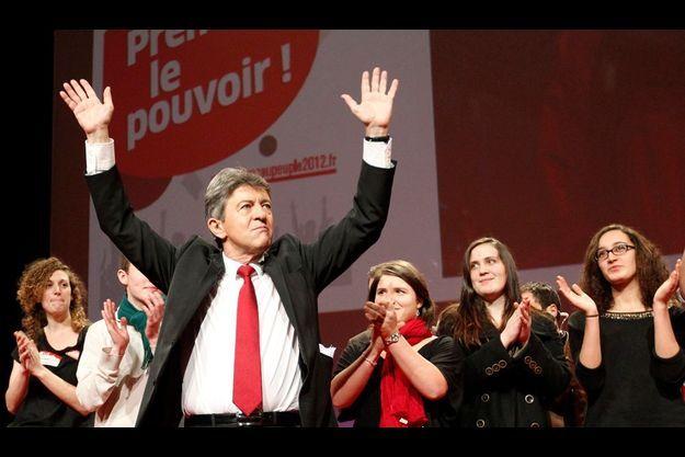Jean-Luc Mélenchon à Saint Herblain le 14 janvier.