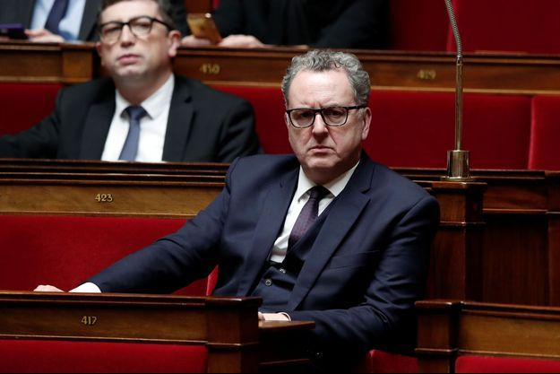 Richard Ferrand, à l'Assemblée nationale.